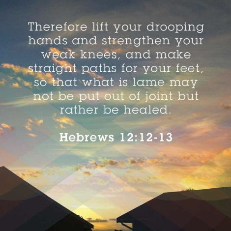 Hebrews 1212